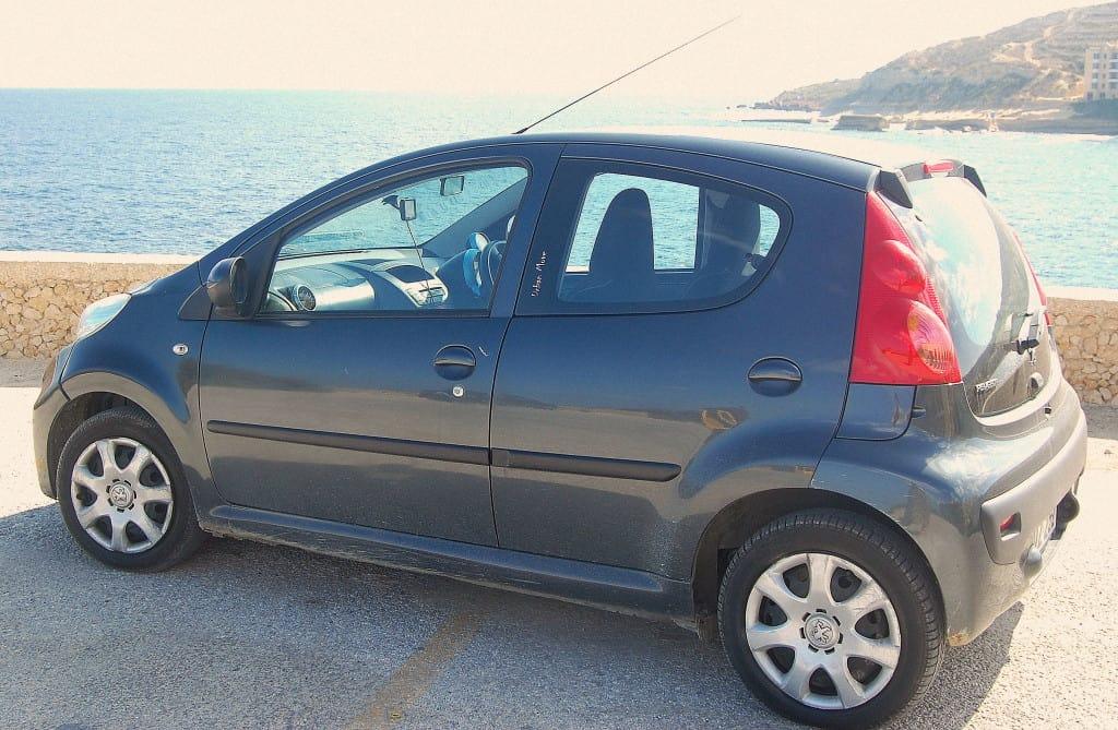 Rental Car Malta