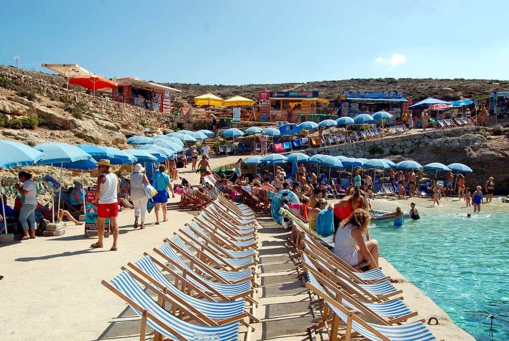 Malta - Blue Lagoon - Dock