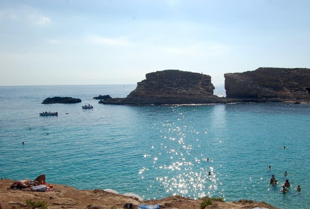 Malta - Blue Lagoon - Sunbather