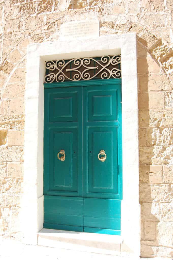 A door in Mdina