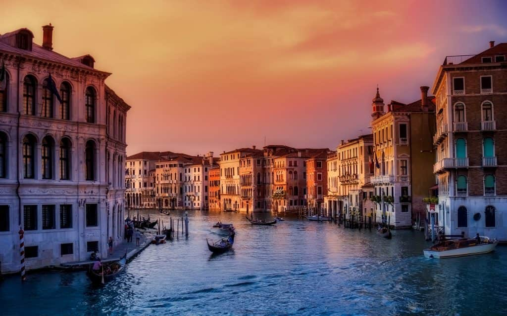 Italy - Venice - Canals - Pixabay