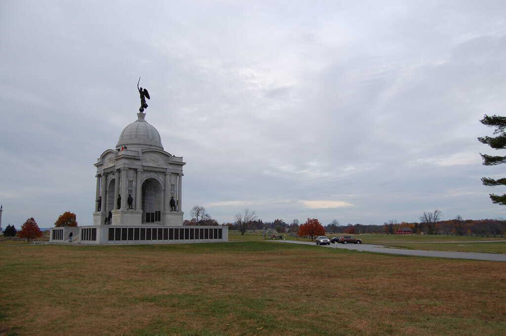The Pennsylvania State Memorial at Gettysburg