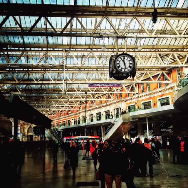 United Kingdom - London - Train
