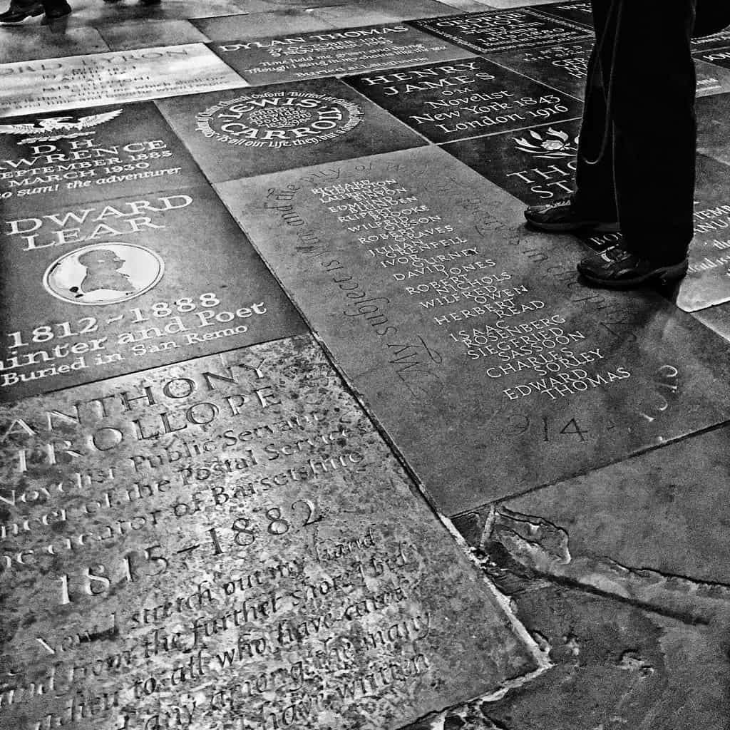 United Kingdom - London - Poet's Corner