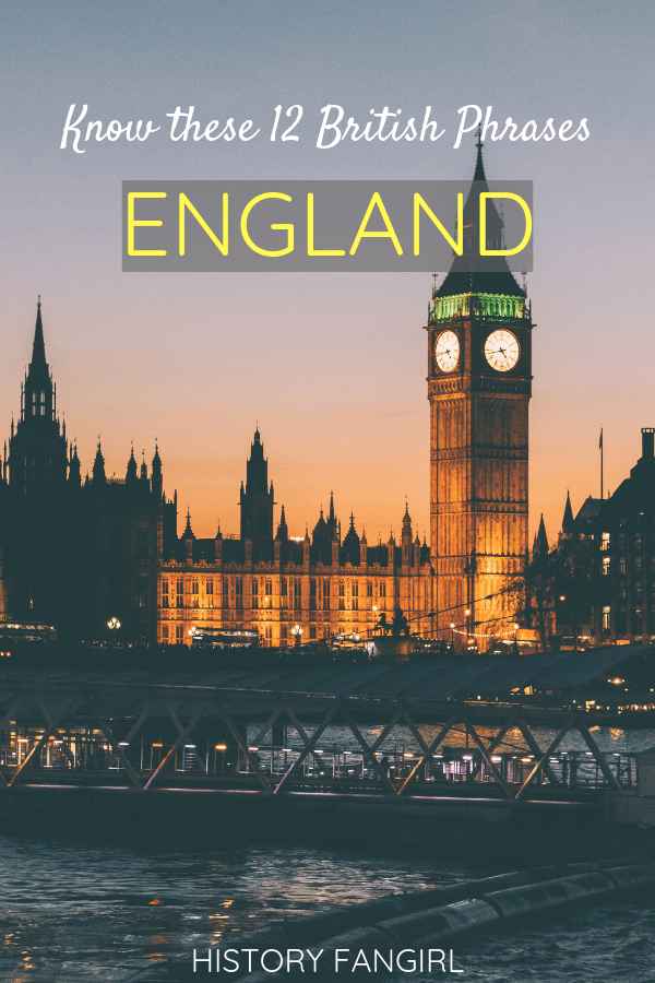 The 12 British Phrases That Have Taken Over My Brain