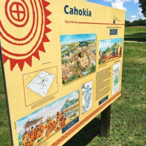 Educational Sign at Cahokia