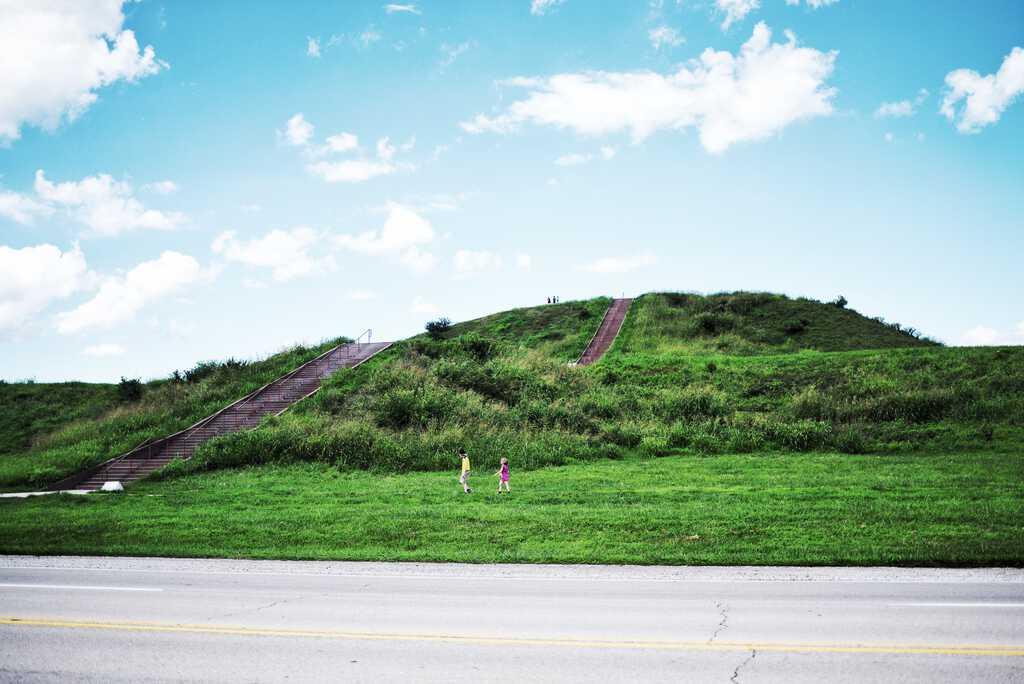 Monk's Mound in Cahokia