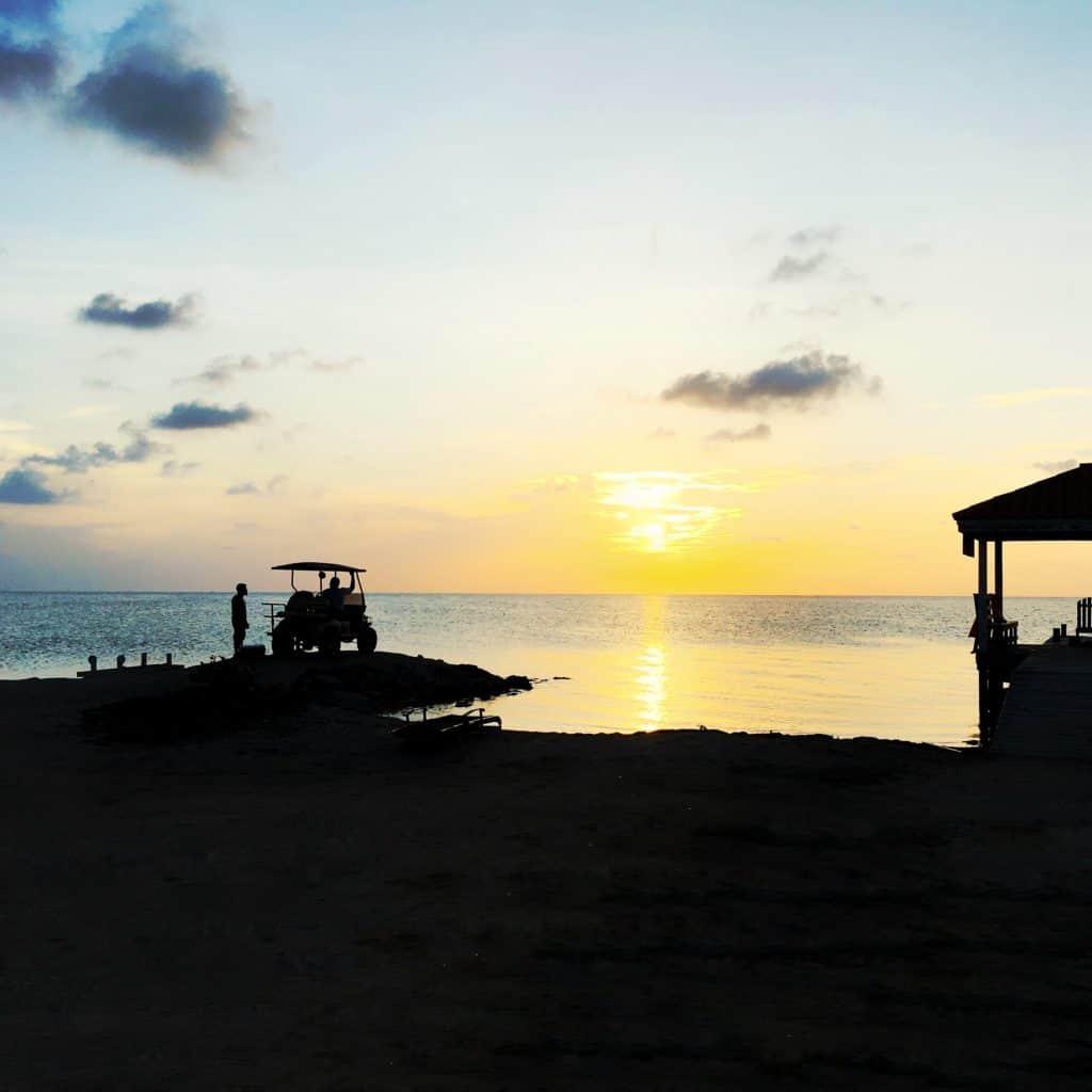 Rent a golf cart to get to Secret Beach