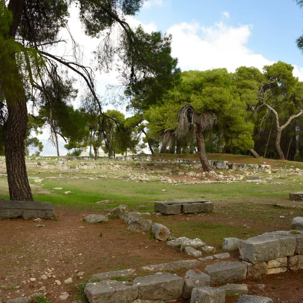 The archeological site at Epidaurus