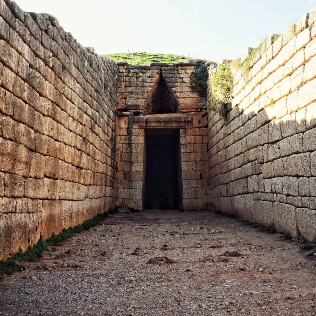 The Tomb of Agamemnon also known as the Treasury of Atreus