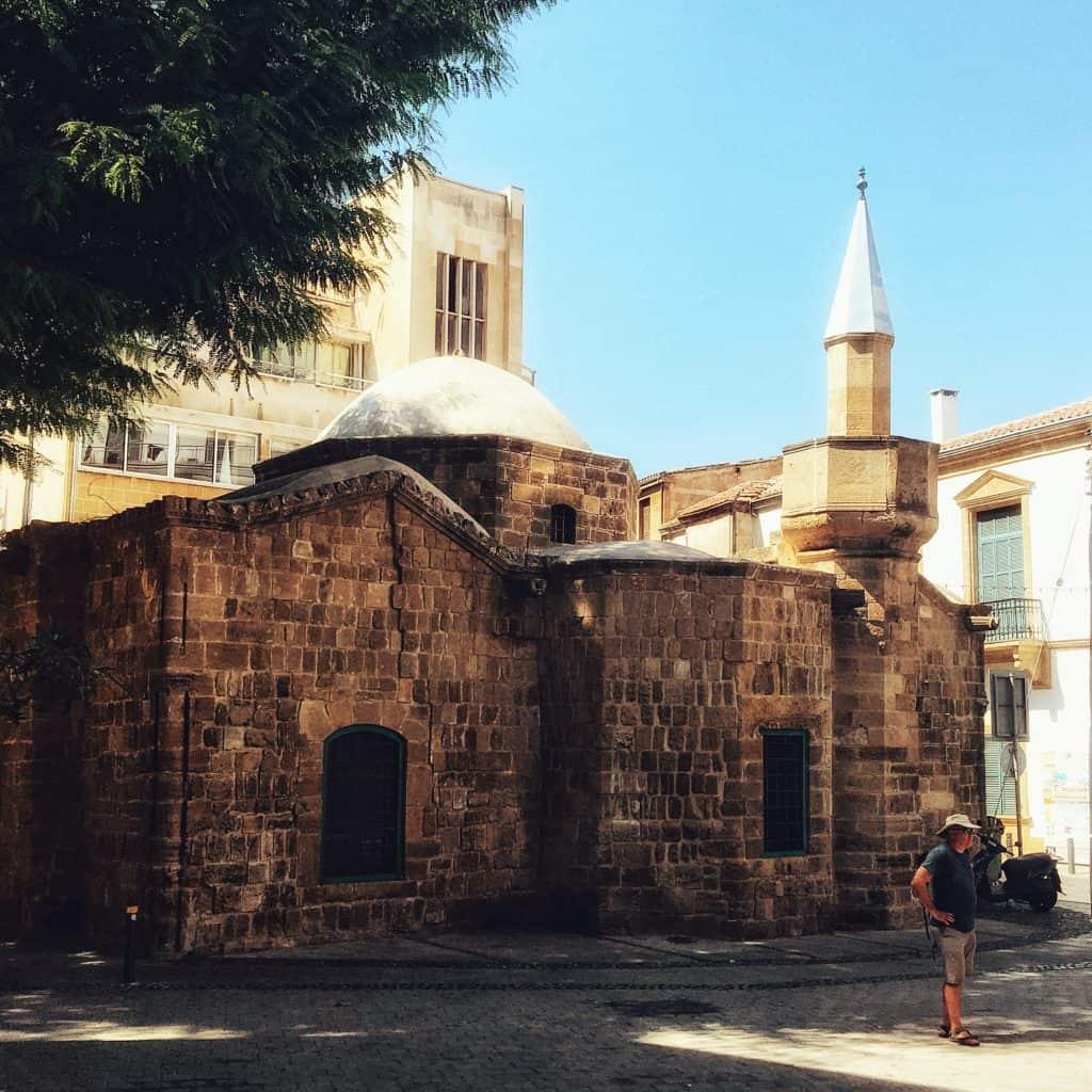 A small church in Nicosia