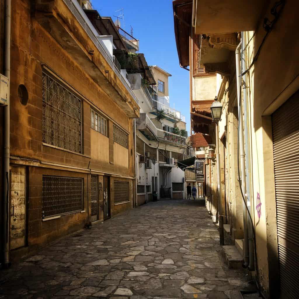 A street in Laiki Geitonia