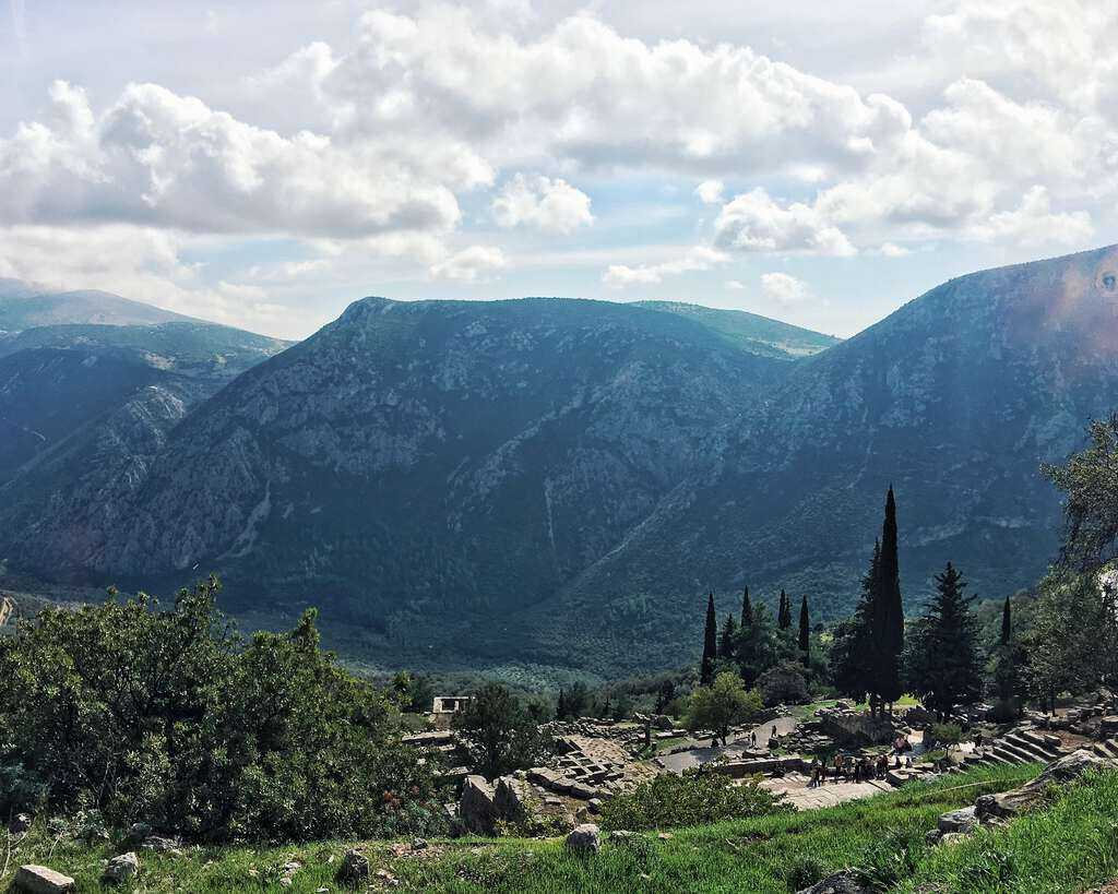UNESCO World Heritage Site #31: Archaeological Site of Delphi (Greece)