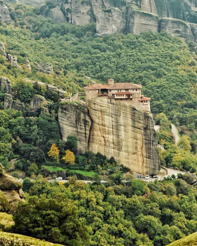 Roussanou Monastery in Meteora