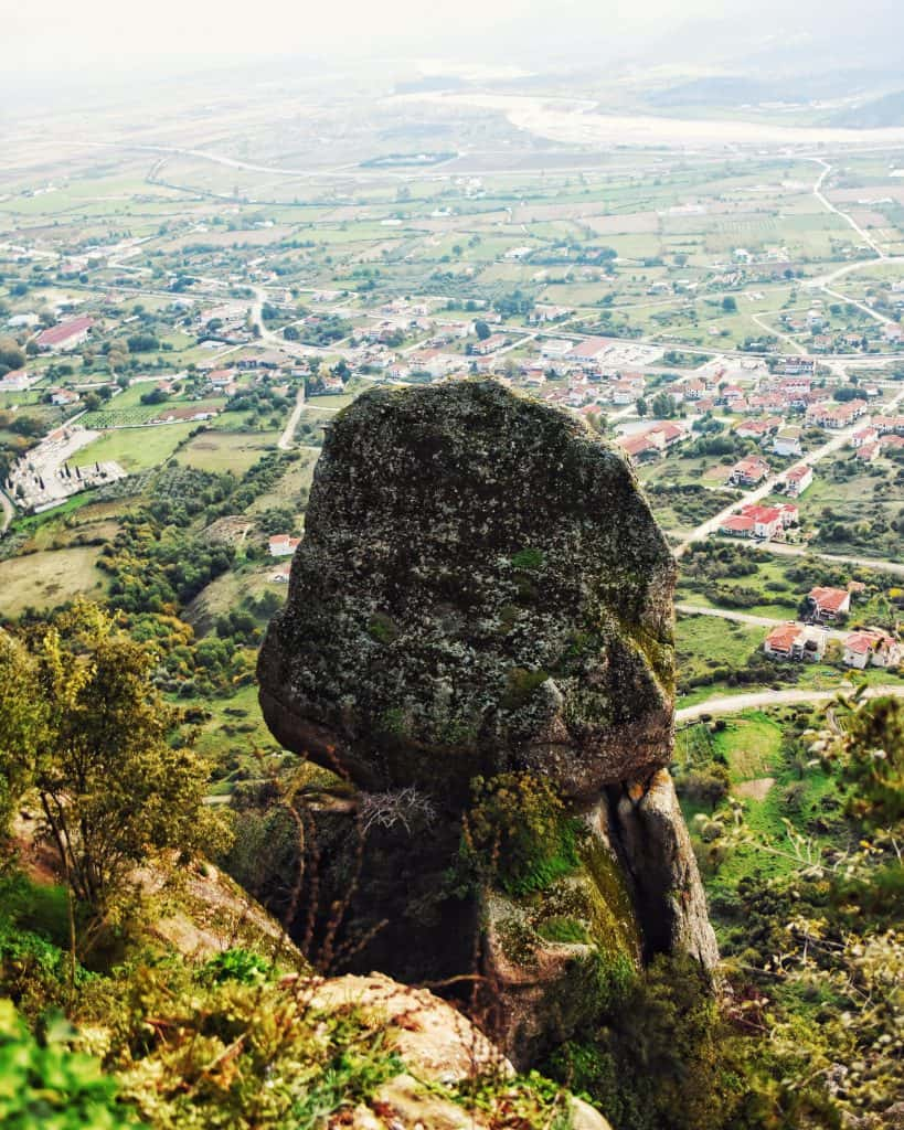 View from St. Stephens Monastery in Meteora