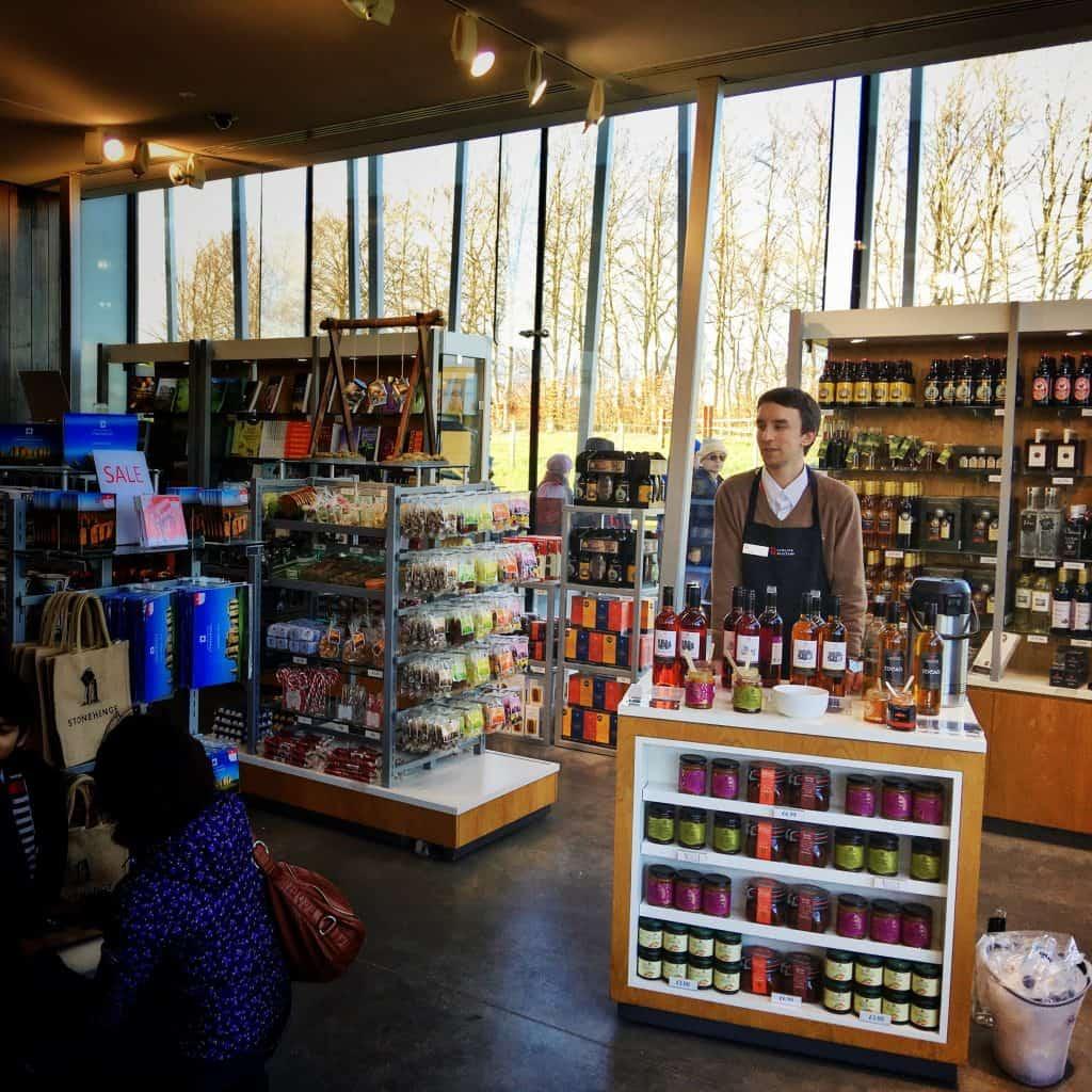 Taste-testing wine at Stonehenge