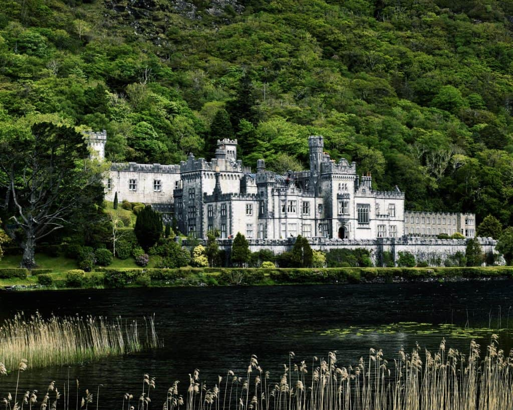 Kylemore Abbey from my Irish Road Trip in May