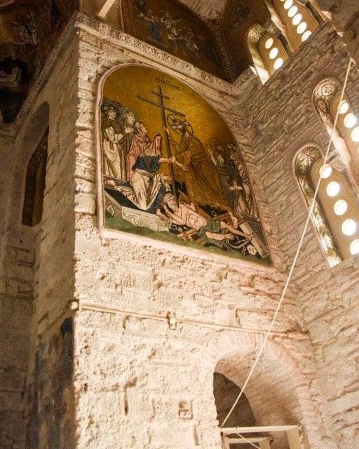 Artwork in the church