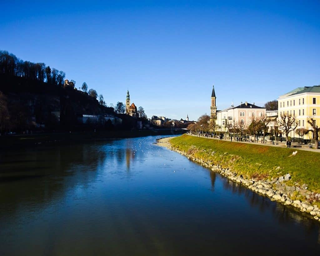 Totally Unrelated Picture of Salzburg, Vienna