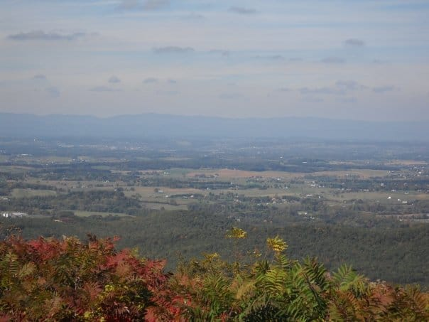 Shenandoah in the early autumn