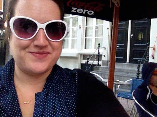 2012 Stephanie was Super Happy in Amsterdam