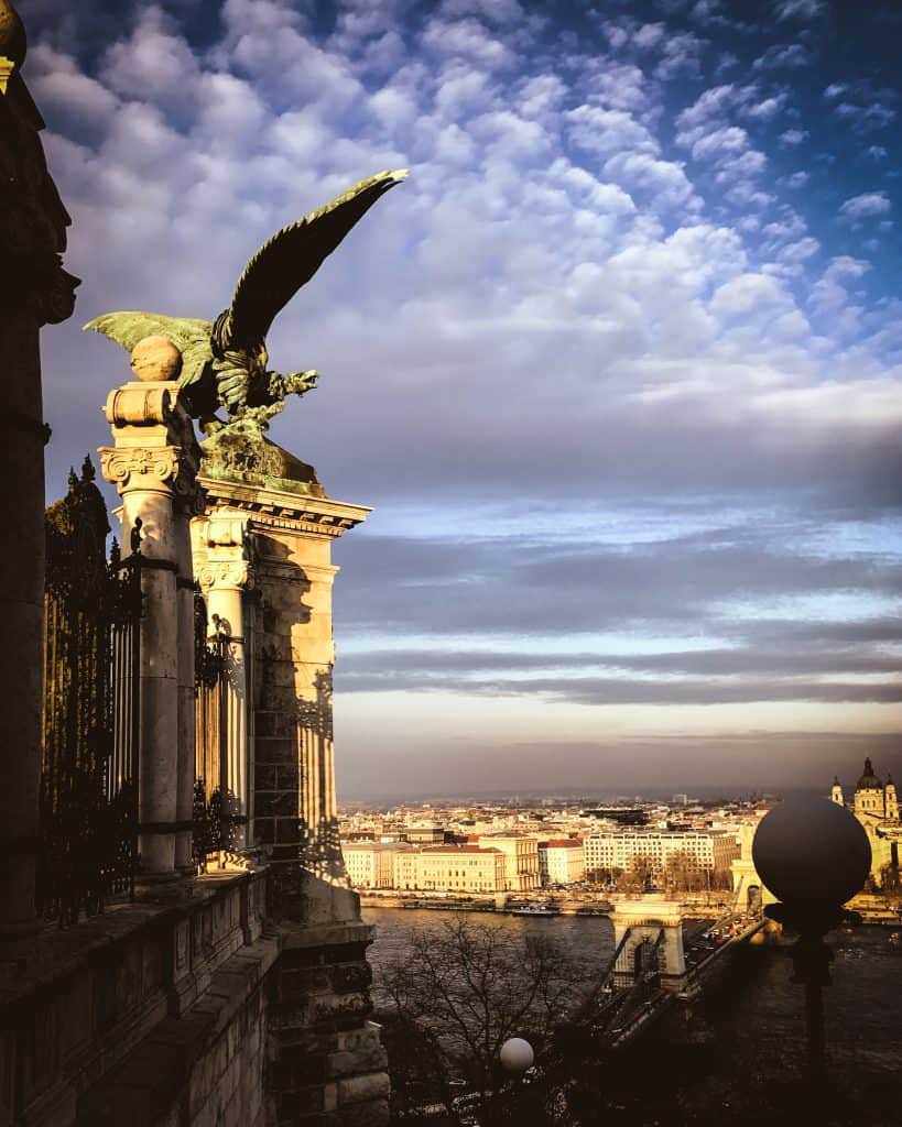 The Eagle on Castle Hill in the Buda Quarter