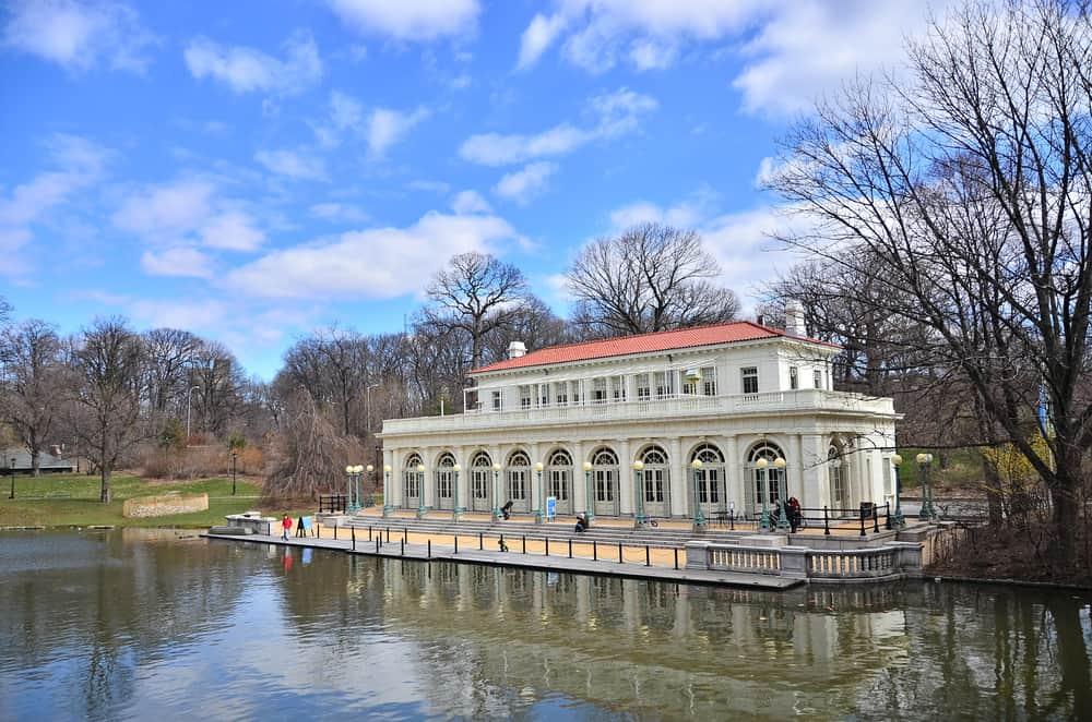USA - New York -The Prospect Park Boathouse, Brooklyn, USA