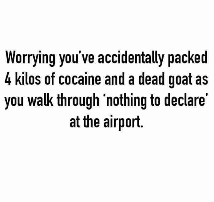 Airport Security Meme
