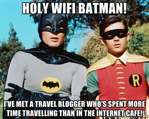 travel blogger meme