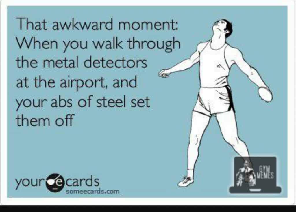 Airport Security Travel Meme