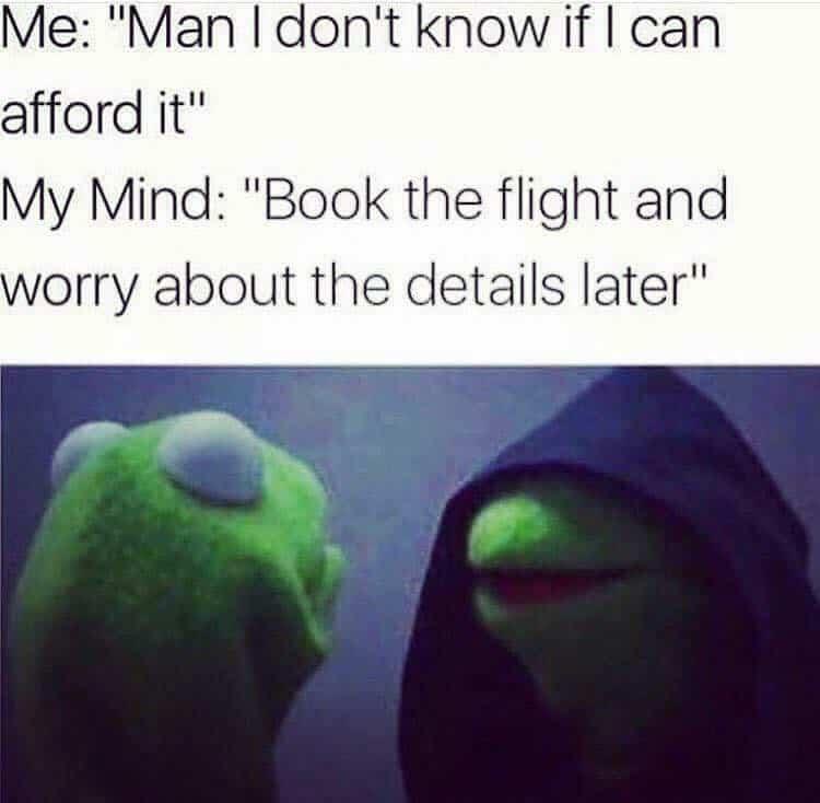 Travel Money Meme