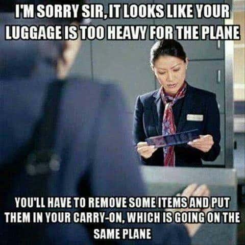 Airport Travel Meme