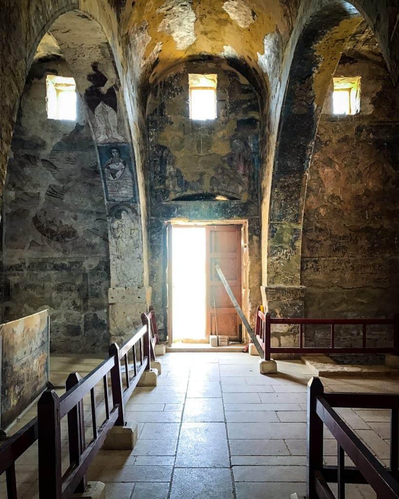 Inside Quseir Amra