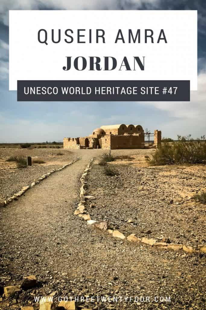 UNESCO World Heritage Site #47: Quseir Amra (Jordan)