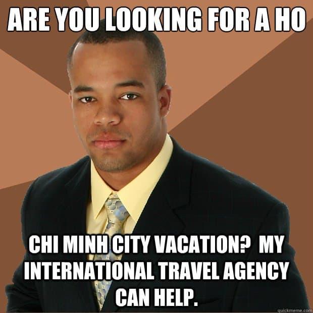 travel agent meme