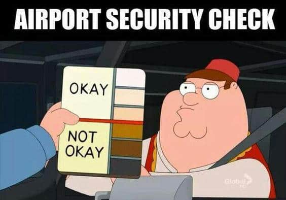 airport security check meme