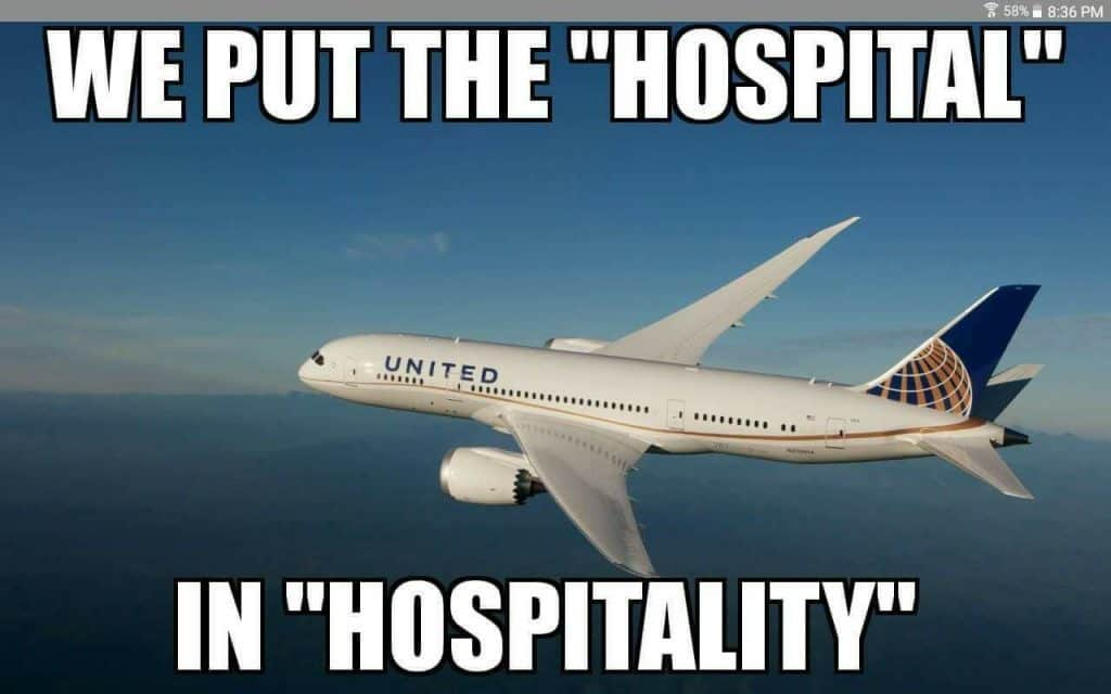 United Airlines Meme