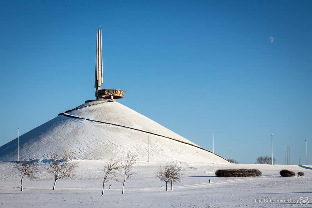 Belarus Soviet Monuments: Mound of Glory