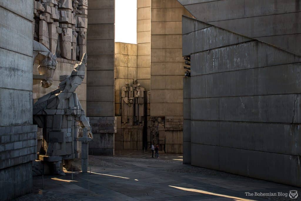 Bulgaria Communist Monuments: Shumen-Founders of the Bulgarian State