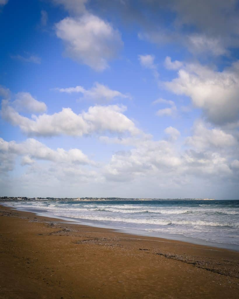 Sword Beach - one of the two beaches stormed by the British
