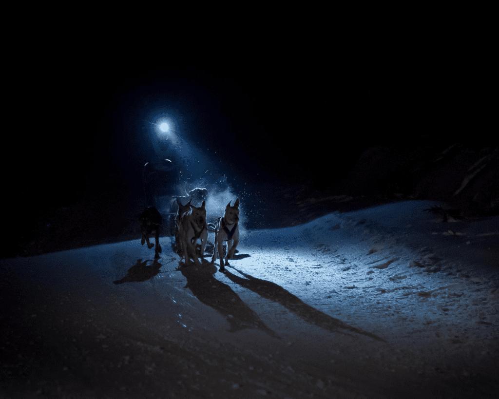 Andorra - Mushing at Night