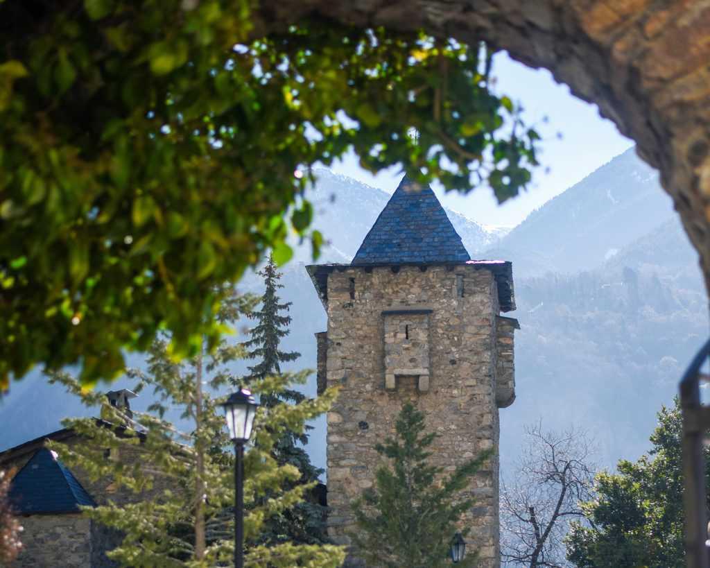 Andorra - Andorra La Vella -Casa de la Vall in Andorra la Vella.