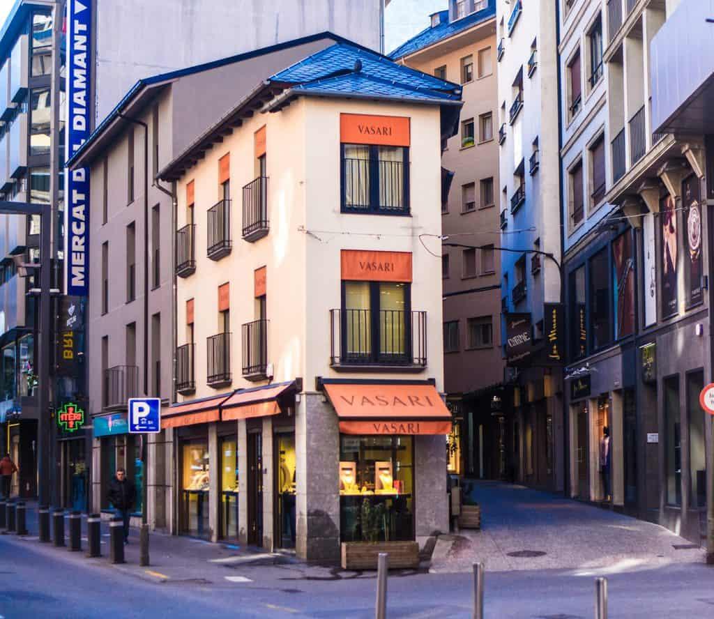 Andorra - Andorra La Vella - Shopping in Andorra at a Cute Store