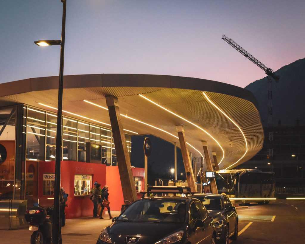 Andorra - Andorra La Vella - Andorra Bus Station