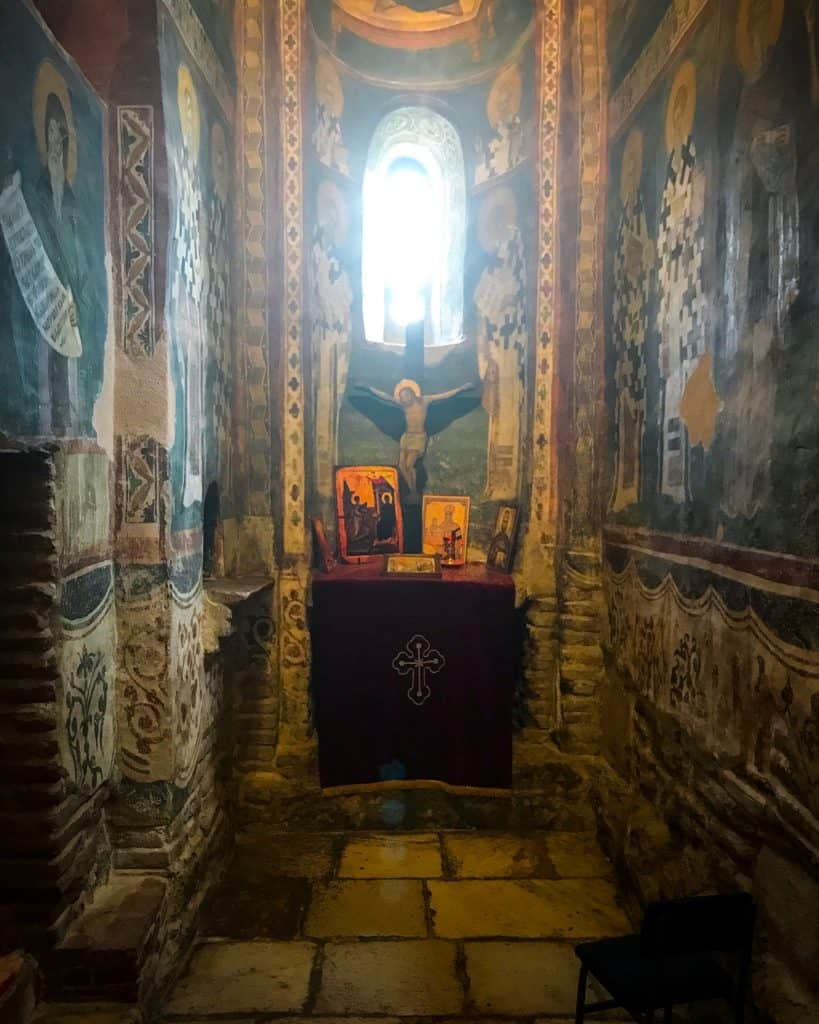 One of the chapels at Gracanica