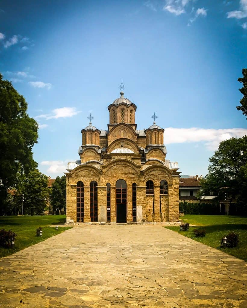 Traveling to Gracanica Monastery from Pristina is pretty easy and pleasant.