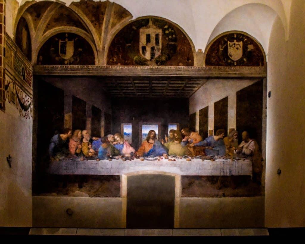 Leonardo DiVinci's 'The Last Supper'