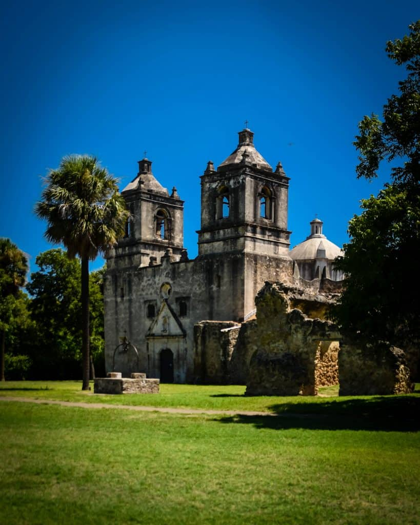 Mission Concepcion is part of the San Antonio Missions UNESCO Site with the Alamo