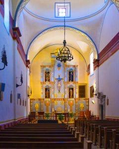 Inside Mission San Jose