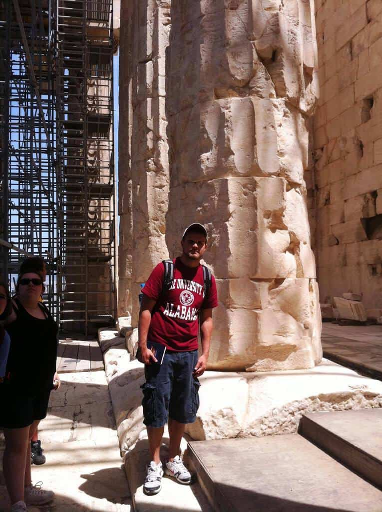 Ryan's Behind the Scenes Pics of the Parthenon